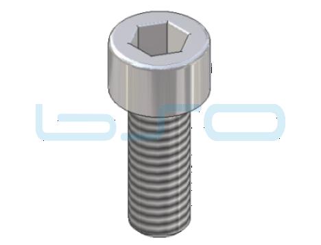 Zylinderkopfschraube DIN 912 mit Innensechskant M 5x20 Edelstahl