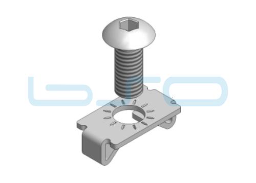 Standardverbinder Nut 5