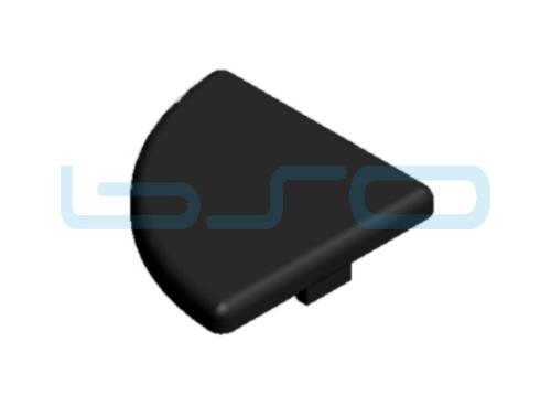 Abdeckkappe Nut 5 20x20 R90