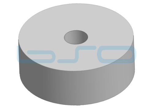Schwingungsdämpfer Höhe 25mm für Fuß 80mm
