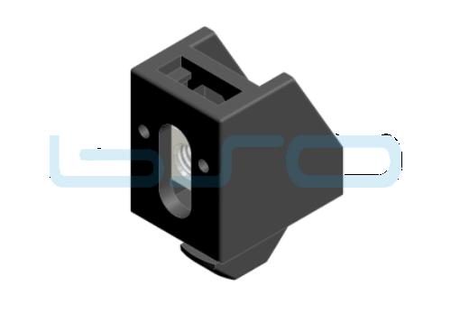 Uniblock Nut 8 A1=12mm M6 Edelstahl