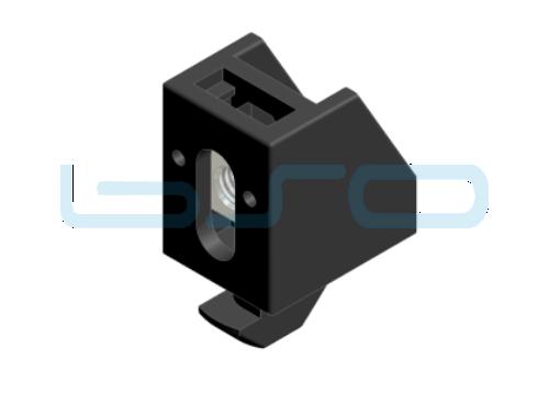 Uniblock Nut 8 Profil 30 A1=5mm mit Hammer M5