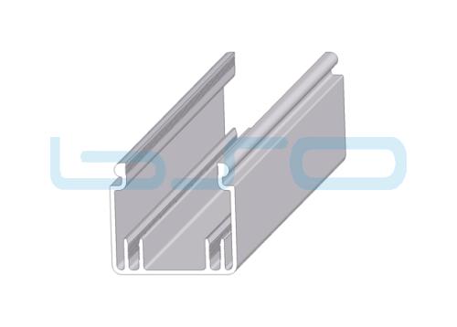 Kabelkanal 40x40 (Unterteil)