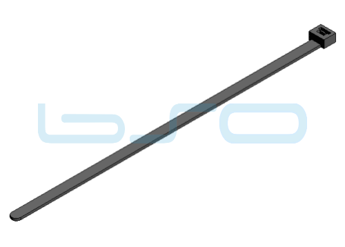 Kabelbinder PA 7,6x280mm schwarz