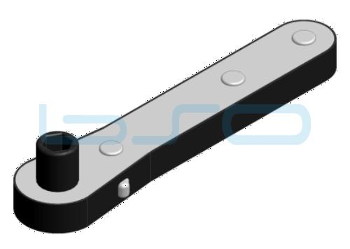Hebelumschaltknarre 140-150 mm 1-4