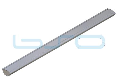 Nutensteinprofil schwer Nut 5 Profilstab Stahl mit Zentrierung