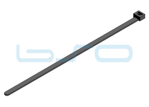 Kabelbinder PA 4,8x140mm schwarz