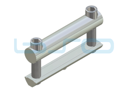 Profilverbinder Raster 80 L=80mm Gewinde M8