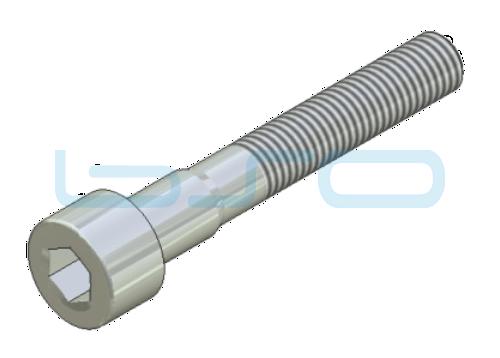 Selbstformende Schraube Zylinderkopf 7x48 Stahl verzinkt