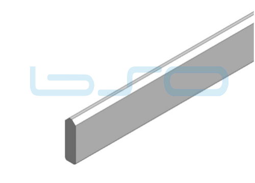 Führungsprofil Stahl 90°