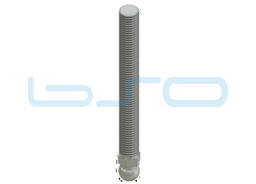 Gewindestange M14x150 Stahl