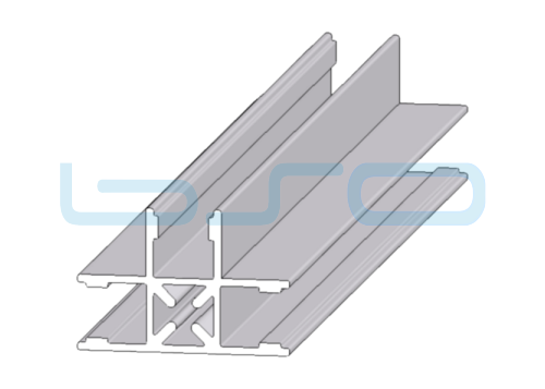 Plattenklemmprofil Nut 10 T-Profil