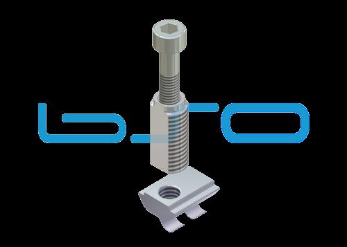 Combi-Einschraubverbinder Nut 8 Raster 30 Bosch kompatibel