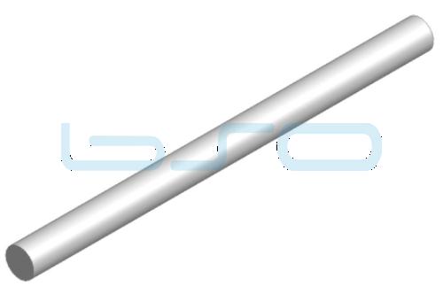 Führungswelle Stahl gehärtet D=14mm