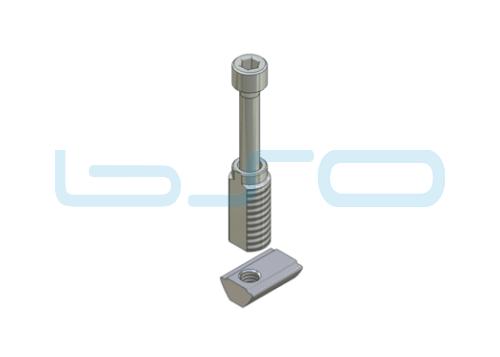 Combi-Einschraubverbinder Nut 5 Länge 14 mm