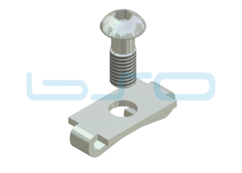 Standardverbinder Nut 8 potentialausgleichend