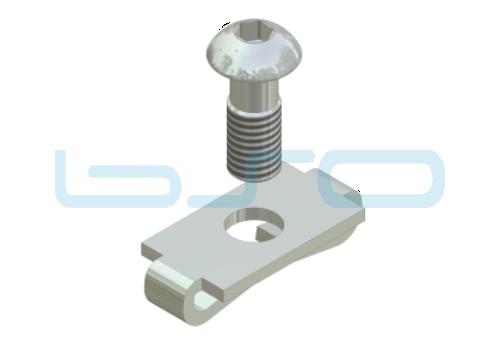 Standardverbinder Nut 8