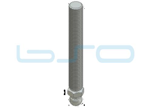 Gewindestange M20x150 Stahl